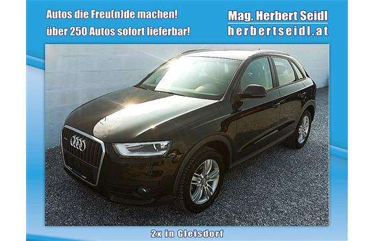 audi q3 2 0 tdi quattro navigation xenon suv offroad 2015 km. Black Bedroom Furniture Sets. Home Design Ideas