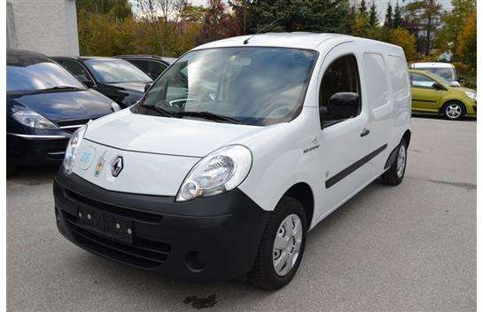renault kangoo maxi z e 2 sitzer ohne batterie van minivan 2012 km. Black Bedroom Furniture Sets. Home Design Ideas