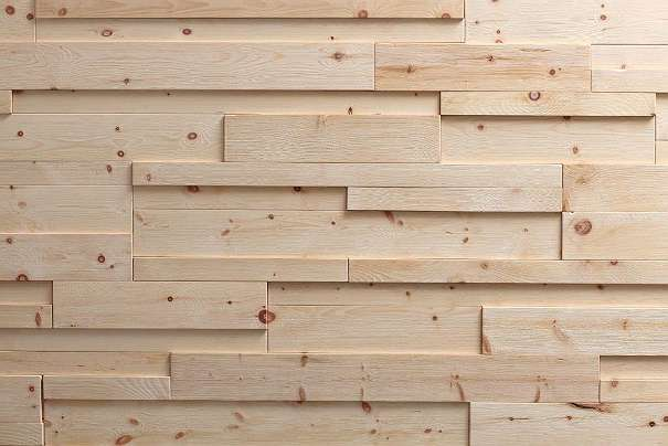 Mareiner Holz Irregulore Wandpaneel Holz Wandverkleidung