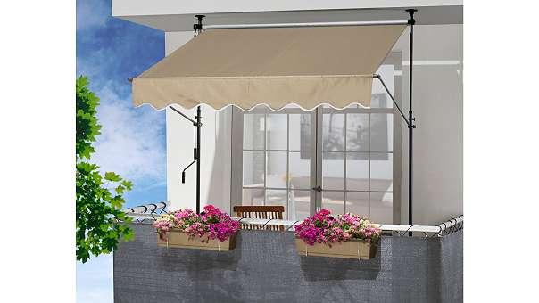 balkon markise excellent terrassen u u nach ma gibtus bei danker danker hannover with balkon. Black Bedroom Furniture Sets. Home Design Ideas