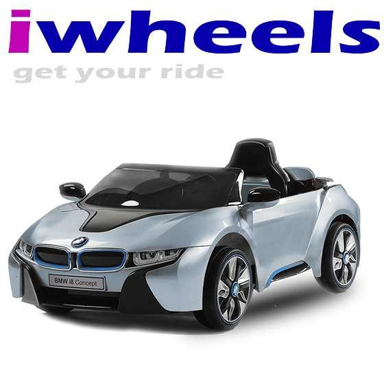 Kinder Elektroauto BMW I8 LIZENZIERT Lackiert 2 x 45 Watt Motor , 2 ...