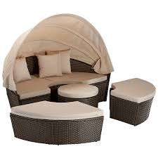 gartenlounge rattan rund. Black Bedroom Furniture Sets. Home Design Ideas