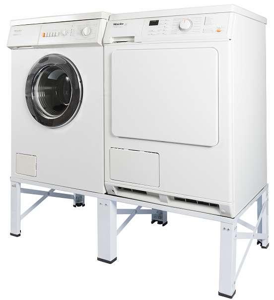 doppel untergestell f r waschmaschine und trockner sockel podest erh hung unterbau 005160 98. Black Bedroom Furniture Sets. Home Design Ideas