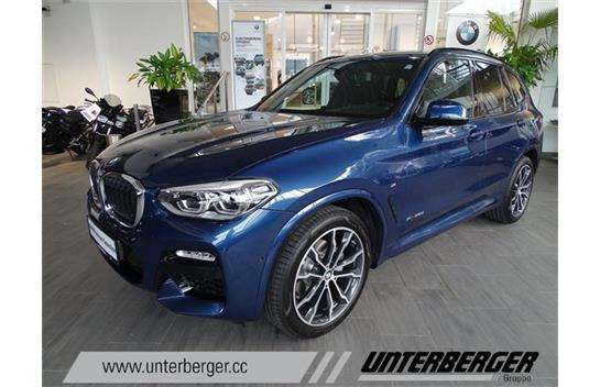 bmw x3 xdrive 20d m sport aut suv gel ndewagen 2017 km willhaben. Black Bedroom Furniture Sets. Home Design Ideas