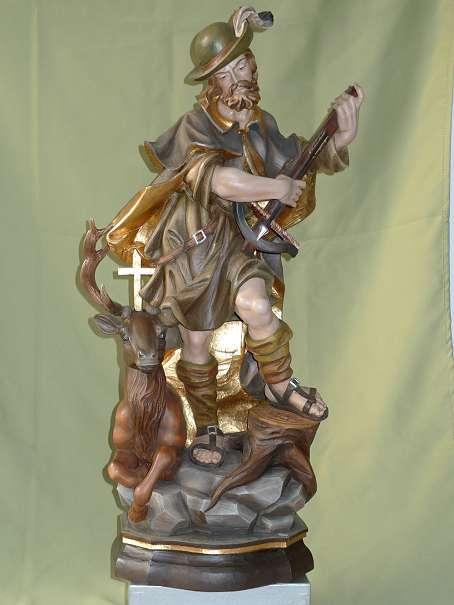 Heiliger Hubertus, Patron der Jäger, Schutzpatron der Jagd