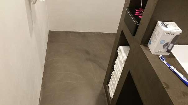 Beton Cire Showroom : Mit beton ciré designbeton machst du es einfach fugenlos