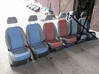 Sitze vorne hinten Skoda Fabia 5J Seitenairbag Sitzbank Innenausstattung Kombi Limousine