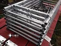 NEU TYP PLETTAC / KOMPATIBEL Gerüste mit Holzböden 2,5m ca. 112m²