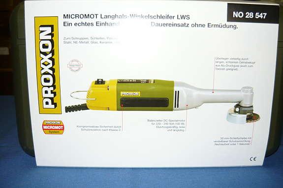 proxxon langhals winkelschleifer lhw 112 50 1100 wien willhaben. Black Bedroom Furniture Sets. Home Design Ideas