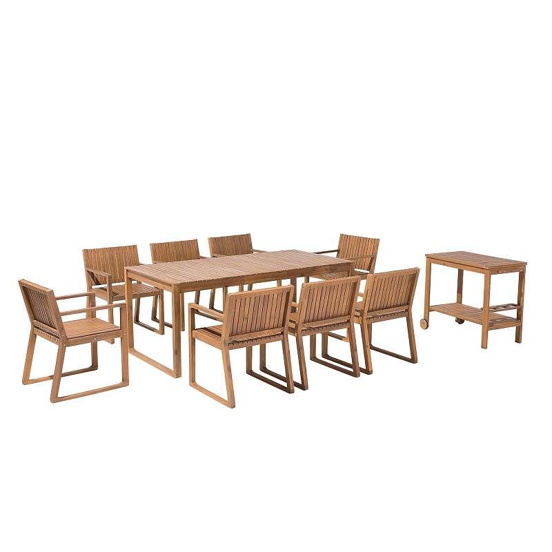 Gartenmobel Set Akazienholz 6 Sitzer Sassari 759 99 1190 Wien