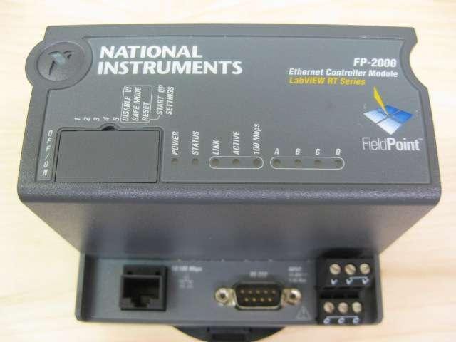 National Instruments FP-2000 Ethernet Controller Module P// N 187685E-01