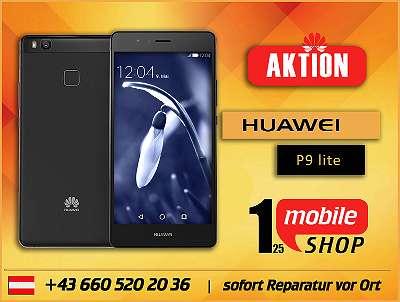 Huawei P9 lite - GEBRAUCHT - mit Garantie - Werksoffen - #Schwarz