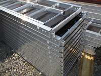 Gerüstbau Typ Layher Gerüst Stahlrahmen ca. 234 qm Layhergerüst Kompatibel NEU!