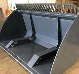 HOCHKIPPSCHAUFEL - LADERSCHAUFEL XXL 2,40m Hoch 1300 mm und Tief 1400 mm - geeignet fyr alle Aufnahmen! Versand GRATIS!