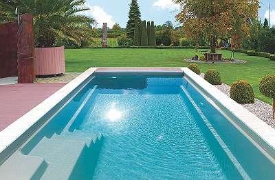 Carbon Ceramic Pool | 6,1 x 3,2 x 1,5 m | Setangebot inkl. Überdachung + Schacht + Technikpaket | Muck Pool