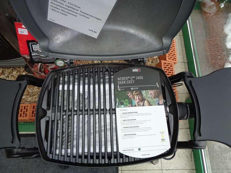 Weber Elektrogrill Lagerhaus : Elektrogrill weber q u ac rohrbach in