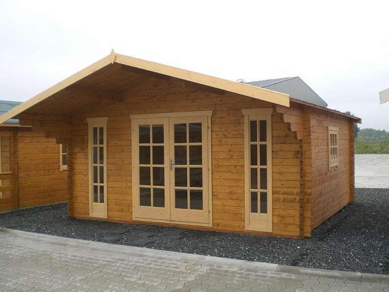 gartenhaus aus holz 5 00 x 4 50m inkl lieferung und abladen blockhaus wochenendhaus