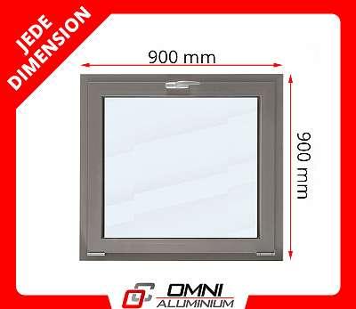 Alu Fenster Aluminium Fenster nach Maß Fenster für Halle Ladenfenster aus Polen