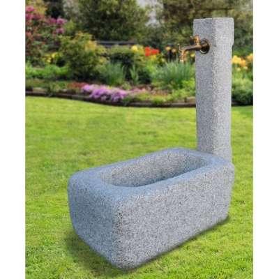 Granit Brunnen L 77 x B 50 x H 40 cm