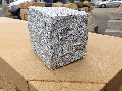 Pflastersteine - Granit grau Feinkorn - Naturstein