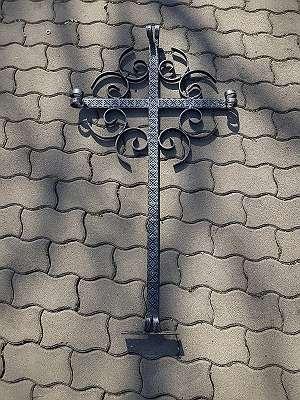 Grabkreuz schmiedeeisen