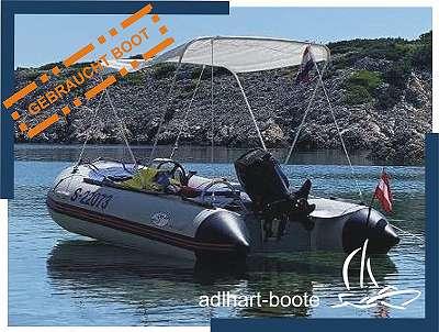 Schlauchboot mit Anhänger GEBRAUCHT