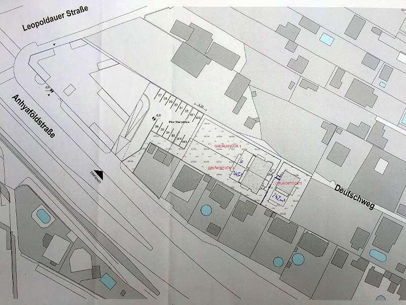 Eigengrund, 2 Parzellen mit je 345 m² - Kleingartenwidmung in 1210 Wien Sc