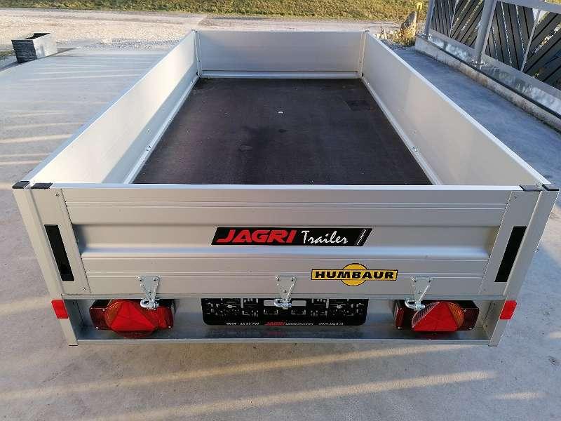 PKW Anhänger, Innenmaß 2,50m x 1,30m, 750kg Ges. Gew., Autoanhänger Humbaur HA 752513 BK, Ladefläche kippbar, 6 Zurrbügel - NETTOPREIS