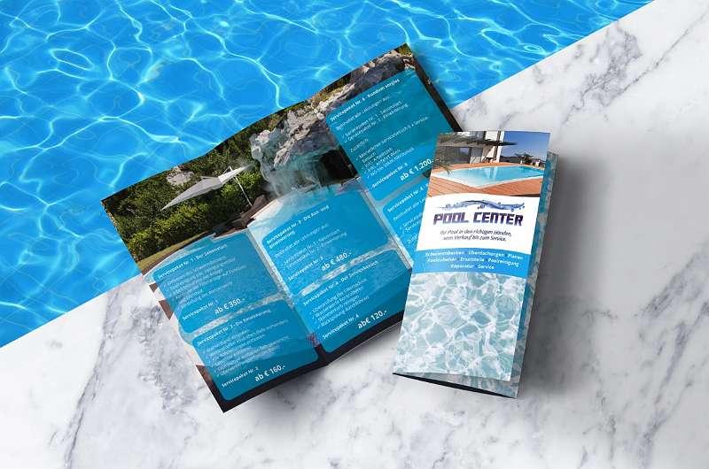 Bild 1 von 8 - Pool Center Iko GmbH Service Flyer