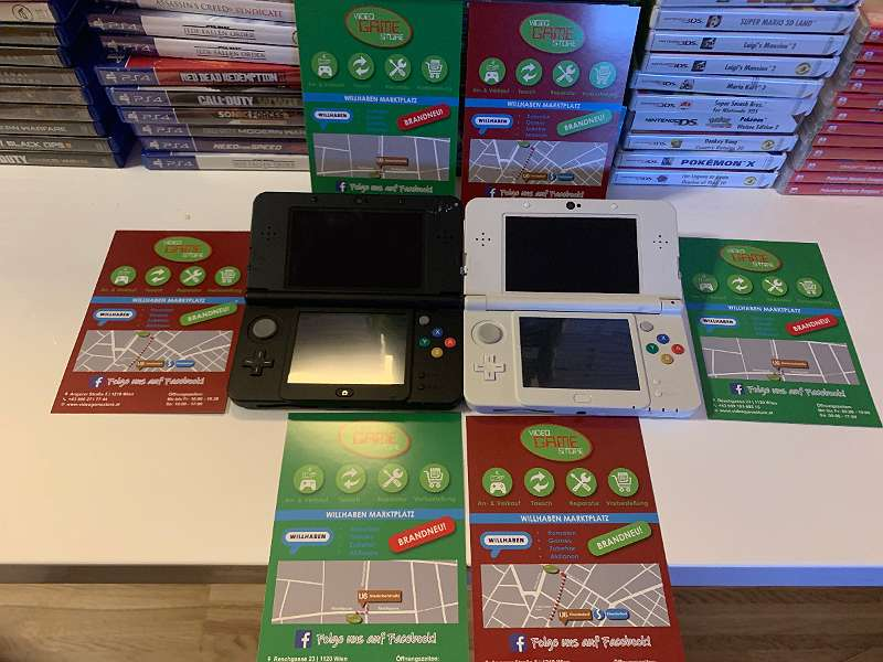 Nintendo 3DS/ 3DS XL/ New 3DS/ 2DS/ New 2DS XL inkl. Spiel u. Rechnung!