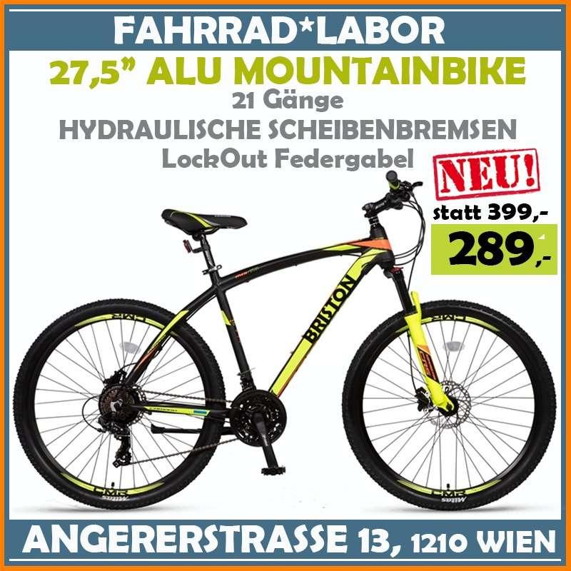 "NEU! 27,5"" Alu MOUNTAINBIKE 27,5"" Zoll - 21 Shimano Gänge - LockOut Federgabel - Alu Rahmen - Angebot Mountainbike Super Angebot - nur 289, -"