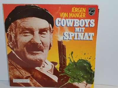 DOPPEL - LP - JÜRGEN VON MANGER - COWBOYS MIT SPINAT
