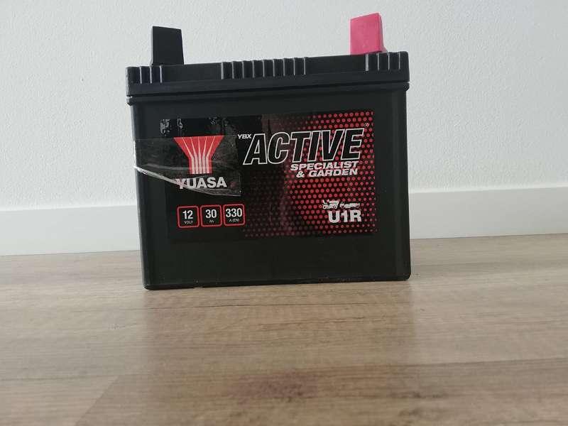 Motoradbatterie Yuasa 30 Ah YUS U1R
