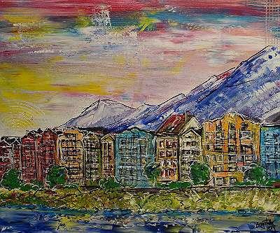 Innsbruck Uferpromenade