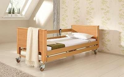 Arminia Low - Das praktische Pflegebett im wohnlichen Design