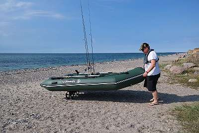 Schlauchboot KIWI 260 grün