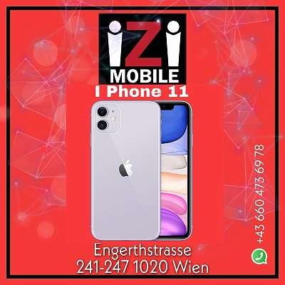 Apple iPhone 11 64GB Weiß / Nagelneu, Org. Versiegelt/ Offen für alle Netze, Mit OVP und 1 Jahr Herstellergarantie iZiMobile
