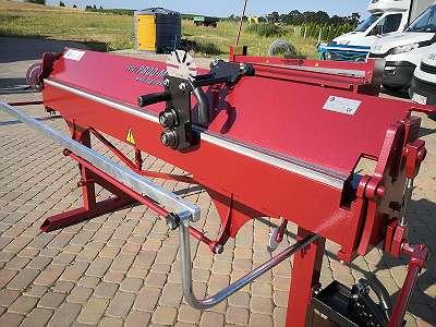 Professionelle Abkantbank Biegemaschine RED 2m 1.2 Stahl + Rollenschere Abkantmaschine Kantbank