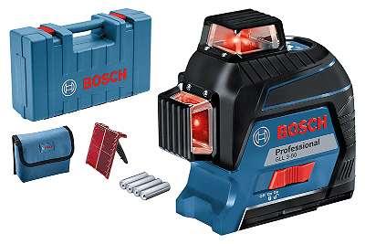Neu: Bosch Pro GLL 3-80 Profi-Linienlaser 3x360 Grad