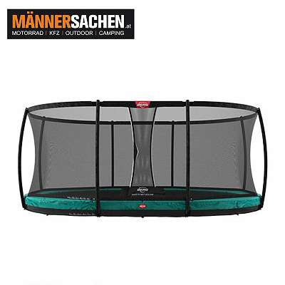 BERG Grand Champion InGround 470 Green + Safety Net Deluxe