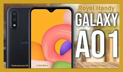 Samsung Galaxy A01 16GB 90? NAGEL NEUE ORGINAL VERSIEGELT WERKSFREI