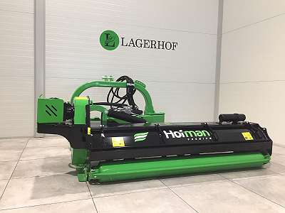 Hofman Mulchgerät R-line 165-225 am Hydraulikarm