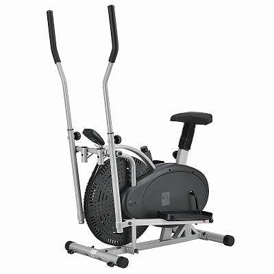 JOIN-SHOP 2in1 Crosstrainer & Heimtrainer Speedy Stepper Fitness Fitnessgerät Sportgerät Sport Ausdauer Training JU24041