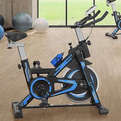 JOIN-SHOP Crosstrainer Speedy Speedbike Fahrrad Hometrainer Trainer Sport JU24042