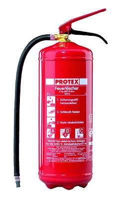 Feuerlöscher Dauerdruck PD6