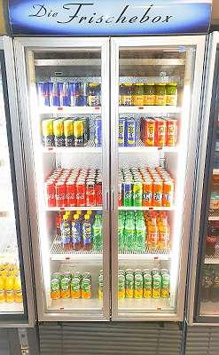 Getränke Kühlschrank funktioniert sehr gut