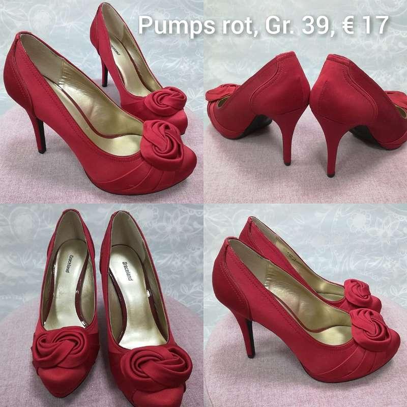 div. Pumps, High Heels, elegante Schuhe
