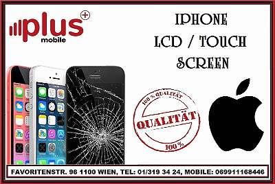 IPHONE LCD / TOUCH / AKKU / ERSATZTEILE AB 19?, BESTE QUALITÄT, GARANTIE, PLUS MOBILE !