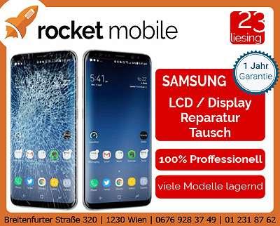 REPARATUR - SAMSUNG LCD - Tausch / Reparatur - S20, S20+, S20 Ultra, Note 10, Note 10+, S10, S10 Plus, S9, S9 Plus, S8, S8 Plus, S7, S7 Edge, Note usw. - RocketMobile Liesing - Breitenfurter Straße 320, 1230 Wien