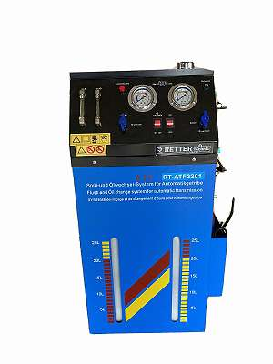 12 V und 230 V DUAL SYSTEM ATF Getriebeöl Wechsel Gerät
